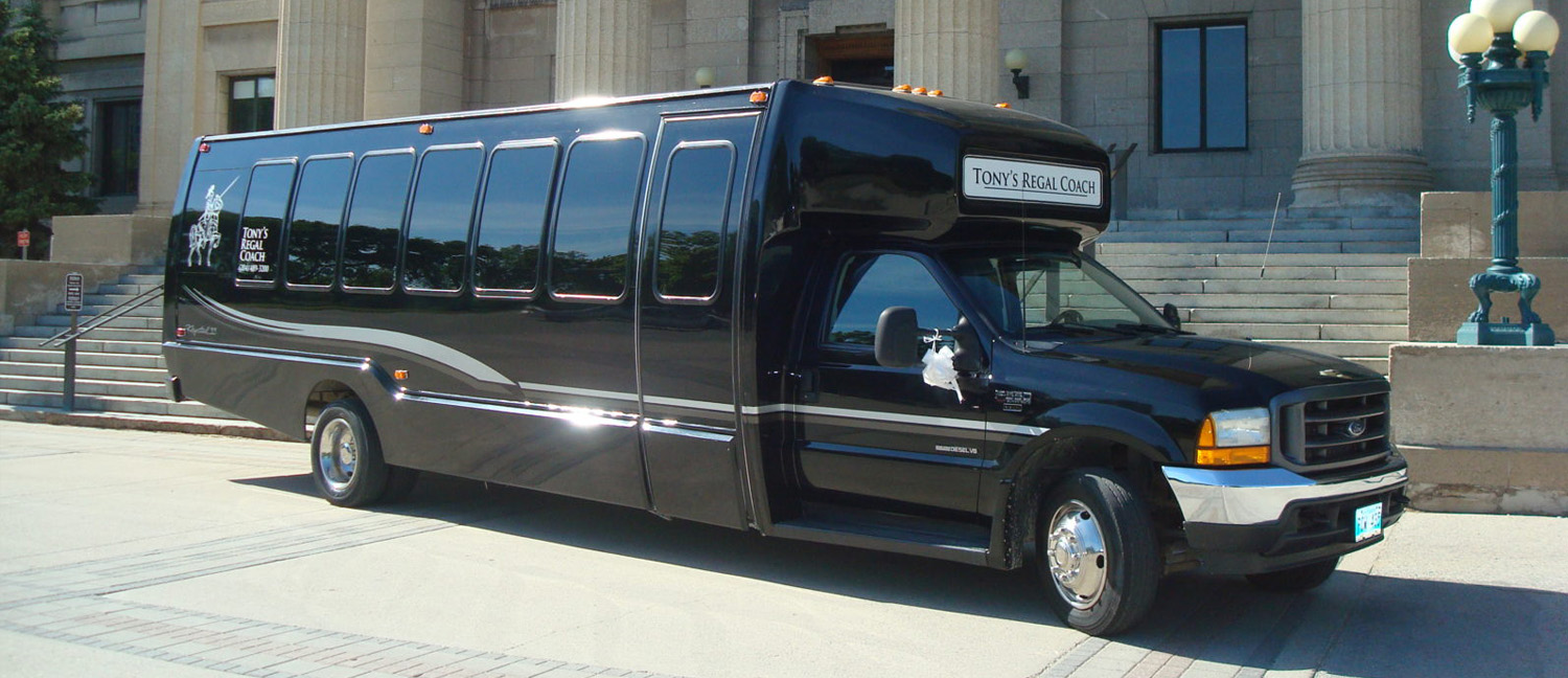 Tony's Regal Coach Limo Buses 3