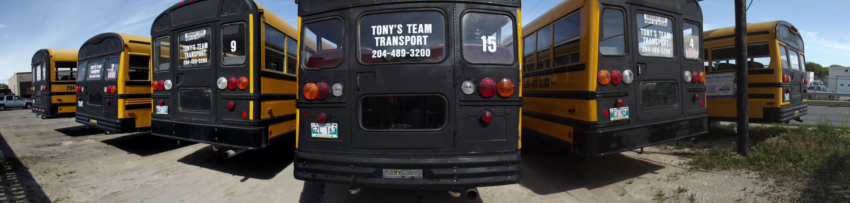 Tony's Team Transport Charter Buses Slide 2