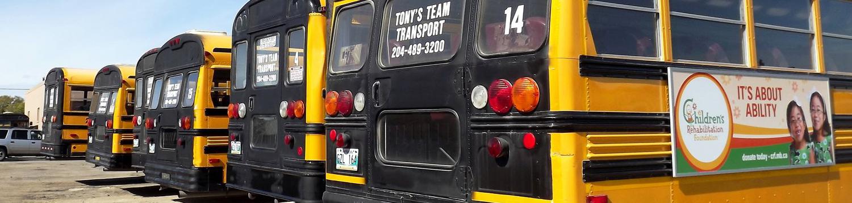 Tony's Team Transport Charter Buses Slide 3