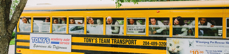 Tony's Team Transport Charter Buses Slide 4